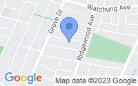 Map of Montclair NJ