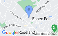 Map of Roseland NJ