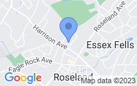 Map of Roseland NJ