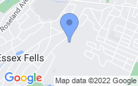 Map of Essex Fells NJ