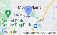 Map of Morris Plains NJ
