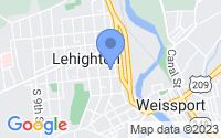 Map of Lehighton PA