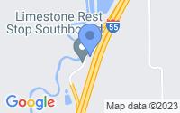 Map of Pontiac IL