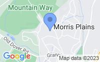 Map of Morris Plains NJ
