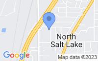 Map of North Salt Lake UT