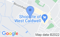 Map of West Caldwell NJ