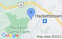 Map of Hackettstown NJ