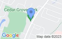 Map of Cedar Grove NJ
