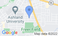 Map of Ashland OH