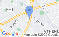 Map of Clifton NJ
