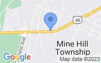 Map of Mine Hill Township NJ