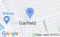 Map of Garfield NJ
