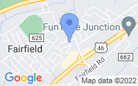 Map of Fairfield NJ