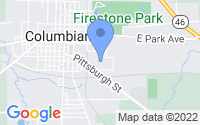 Map of Columbiana OH