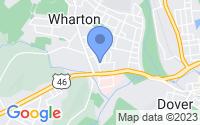 Map of Wharton NJ