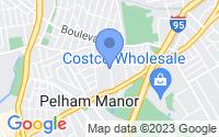 Map of Pelham Manor NY