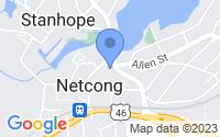 Map of Netcong NJ