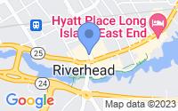 Map of Riverhead NY