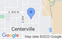 Map of Centerville UT
