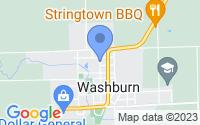 Map of Washburn IL