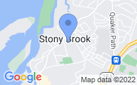 Map of Stony Brook NY