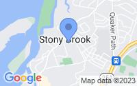 Map of Stony Brook NY