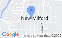 Map of New Milford NJ