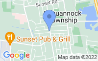 Map of Pequannock Township NJ