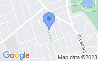 Map of Glen Rock NJ