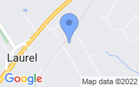 Map of Laurel NY