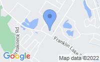 Map of Franklin Lakes NJ