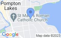 Map of Pompton Lakes NJ