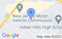Map of Oakland NJ