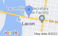 Map of Lacon IL