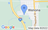 Map of Wenona IL