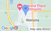 Map of Wenona IL