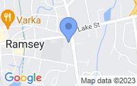 Map of Ramsey NJ