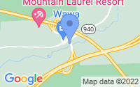 Map of White Haven PA