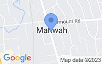 Map of Mahwah NJ