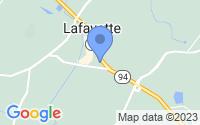 Map of Lafayette Township NJ