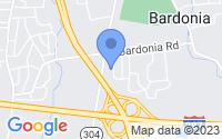 Map of Bardonia NY