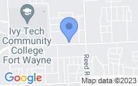 Map of Fort Wayne IN