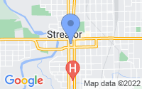 Map of Streator IL