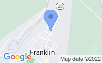 Map of Franklin NJ