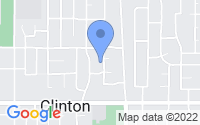 Map of Clinton UT
