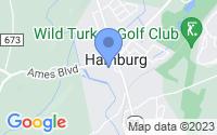Map of Hamburg NJ