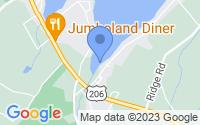 Map of Branchville NJ
