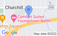Map of Youngstown OH