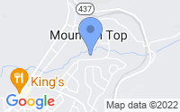 Map of Mountain Top PA