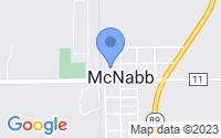 Map of McNabb IL